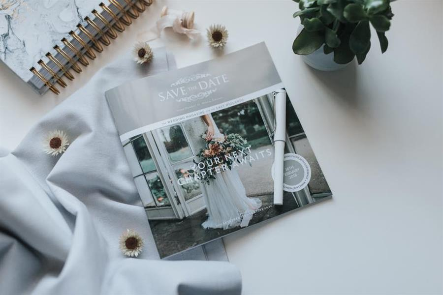 Save the Date magazine - Pear and Bear Photography, styled shoot