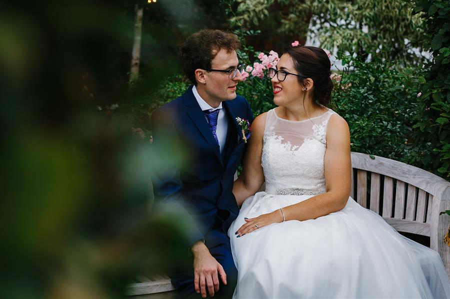 Emily And Katy Photography photographed the wedding at at The Walled Garden in Beeston