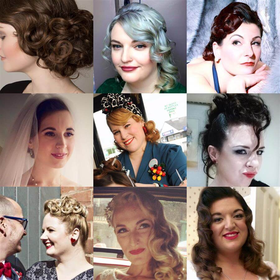Pin Up Curl Ms Moo Make Up Blog Nottingham Makeup Artist