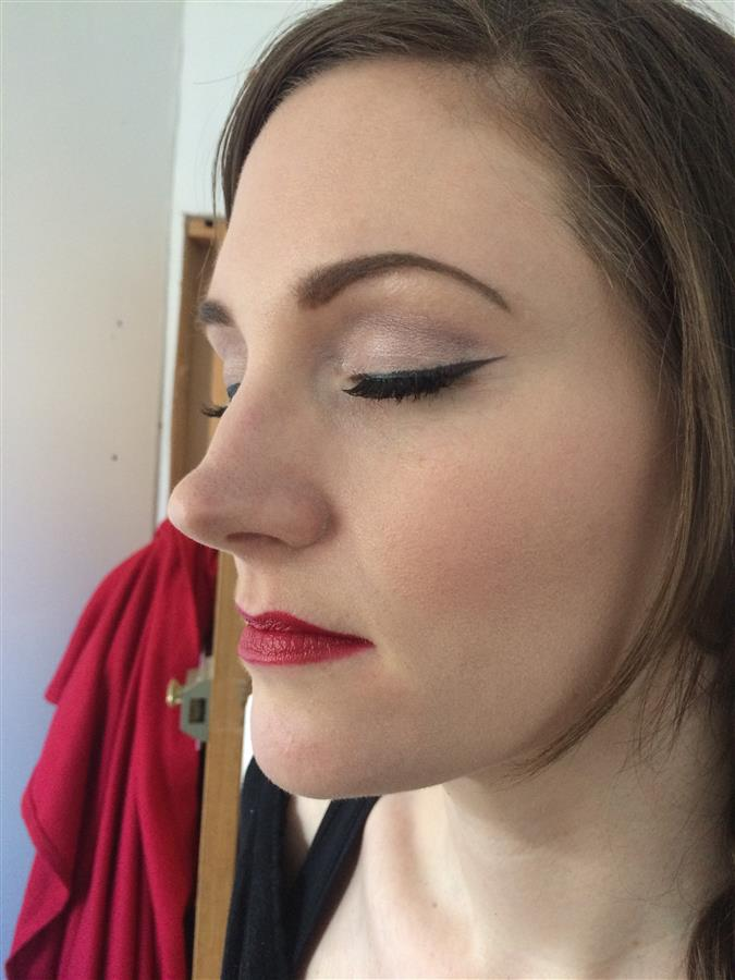 Lizzie's wedding day - wedding make-up trial with Ms Moo Make Up
