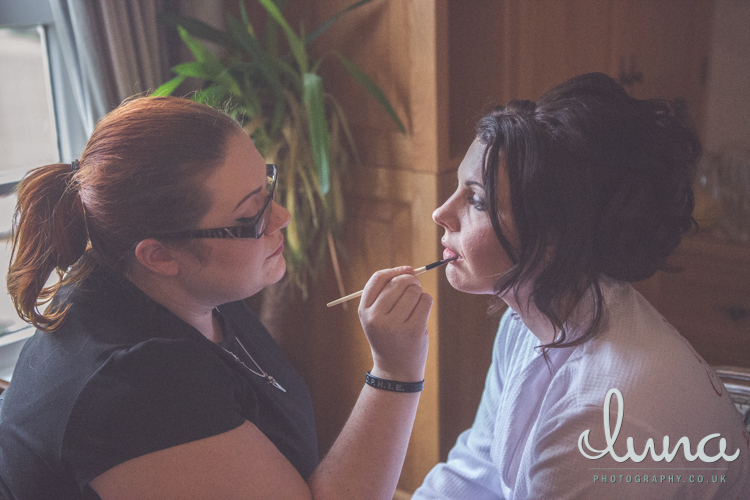 Ms Moo Make Up wedding make-up in Nottingham - Luna Photography
