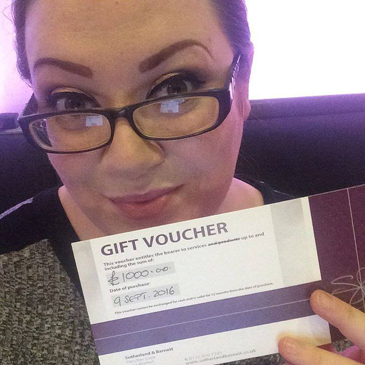 Ms Moo Make Up - Sutherland and Barnett voucher